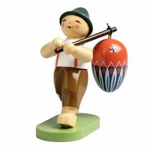 Boy with Egg on Pole by Wendt & Kühn Image