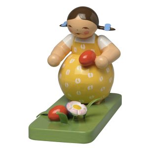 Girl Finding Easter Eggs by Wendt & Kuhn Image