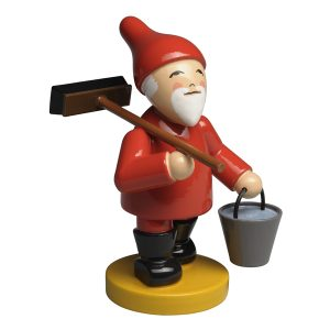 Gnome with Broom and Bucket by Wendt & Kühn Image