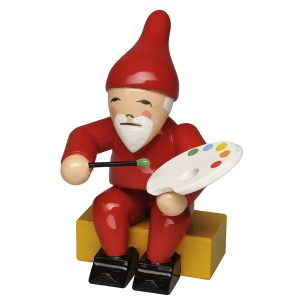 Gnome with Brush and Palette by Wendt & Kühn Image