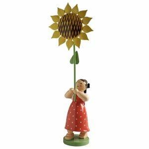 Girl with Sunflower by Wendt & Kühn Image