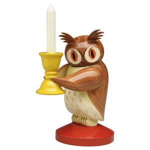 Large Owl with Candelabra by Wendt & Kühn Image