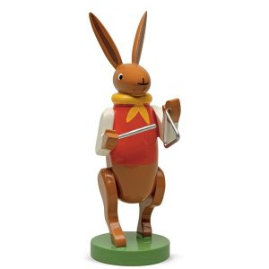 Bunny Musician with Triangle by Wendt & Kühn Image