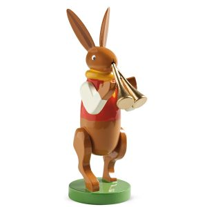 Bunny Musician with Double Flute by Wendt & Kühn Image