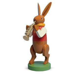 Bunny Musician with Trumpet by Wendt & Kühn Image