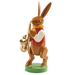 Bunny Musician with Saxaphone by Wendt & Kühn Image