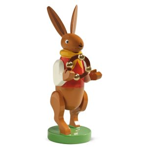 Bunny Musician with Headless Tambourine by Wendt & Kühn Image