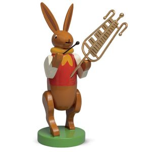 Bunny Musician with Chimes by Wendt & Kühn Image