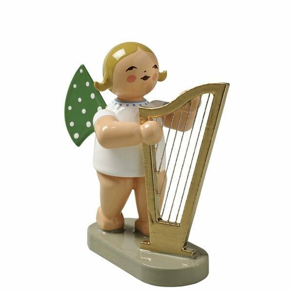 Angel with Large Harp by Wendt & Kühn Image