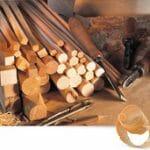 Image of Bundle of Wood for Workshop Section