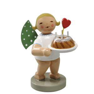 Angel with Cake and Heart by Wendt & Kühn Image