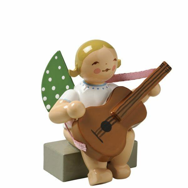 Angel with Guitar Sitting by Wendt & Kühn Image