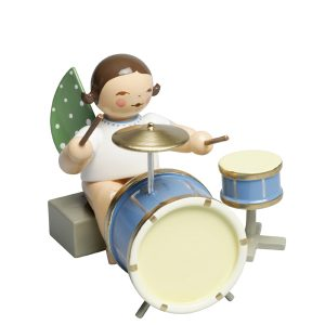 Angel with Two Piece Percussion Sitting by Wendt & Kühn Image