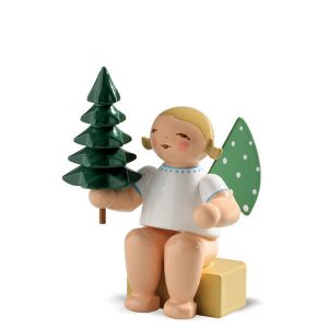 Angel Small with Little Tree by Wendt & Kühn Image