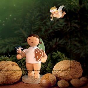 """""""Gingerbread Angels"""" Paper Napkins by Wendt & Kühn Image"""