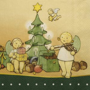 """""""The Magic of Christmas"""" Paper Napkins by Wendt & Kühn Image"""