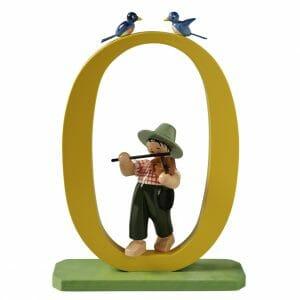 Large Birthday Number 0 Boy with Violin by Wendt & Kühn Image