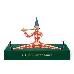 Small Hans Kunterbunt with Pedestal by Wendt & Kühn Image