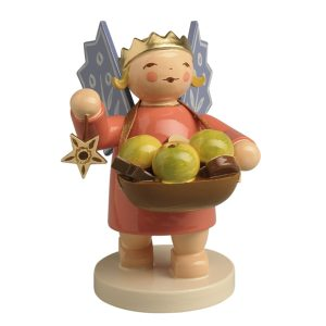 Angel Wearing Crown with Basket by Wendt & Kühn Image