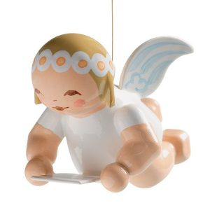 Little Suspended Angel with Sheet of Music by Wendt & Kühn Image