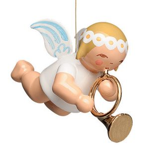 Little Suspended Angel with French Horn by Wendt & Kühn Image