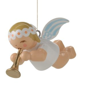 Little Suspended Angel with Small Trumpet by Wendt & Kühn Image