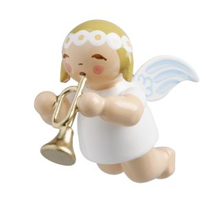 Little Suspended Angel with Trumpet by Wendt & Kühn Image