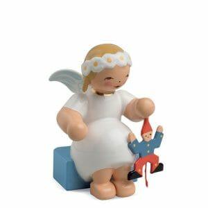 Marguerite Angel Sitting with Jumping Jack by Wendt & Kühn Image