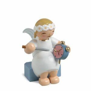 Marguerite Angel Sitting with Alarm Clock by Wendt & Kühn Image