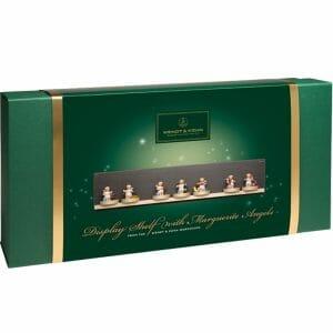 Display Shelf with 7 Marguerite Angel Figurines by Wendt & Kühn Image