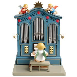 "Music Box ""Organ"" with 36 Note Musical Movement by Wendt & Kühn Image"