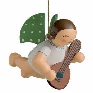 Angel with Mandolin Suspended by Wendt & Kühn Image