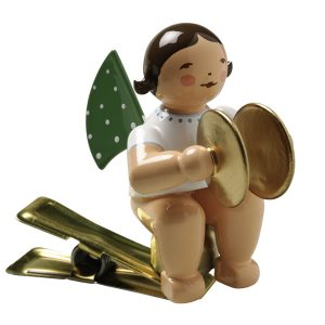 Angel Musician with Cymbals on Clip by Wendt & Kühn Image