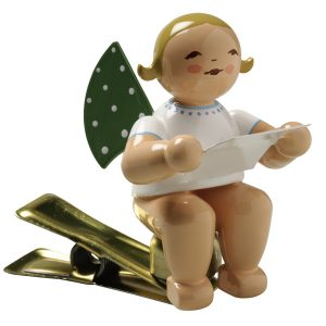 Angel Musician with Sheet of Music on Clip by Wendt & Kühn Image