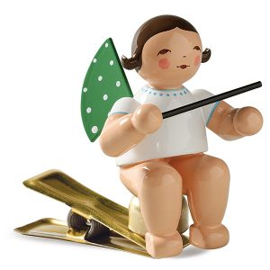 Angel Musician with Baton on Clip by Wendt & Kühn Image