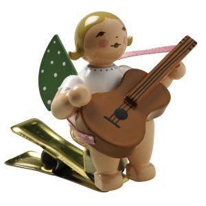 Angel Musician with Guitar on Clip by Wendt & Kühn Image
