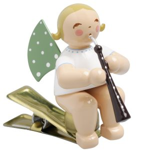 Angel Musician with English Horn on Clip by Wendt & Kühn Image