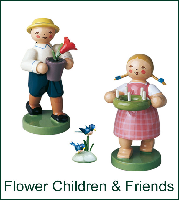 Flower Child and Friends Image