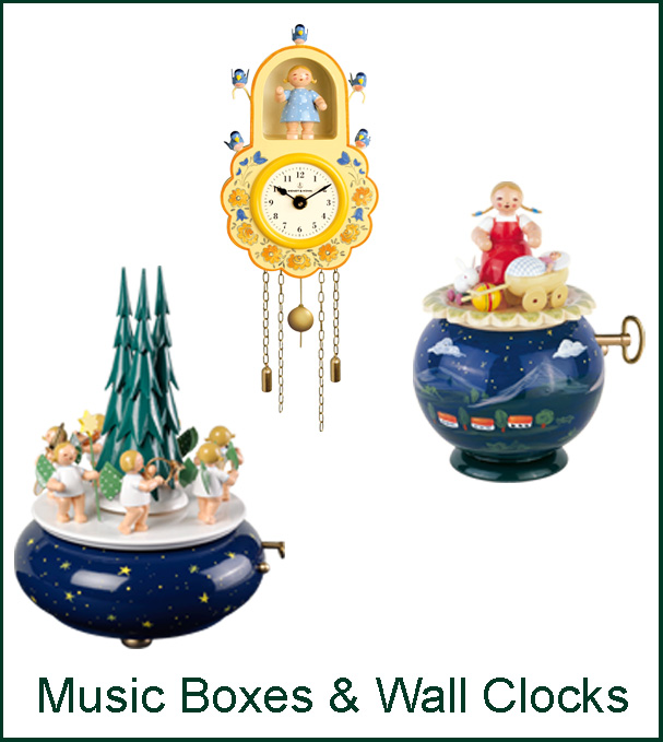 Music Boxes and Wall Clocks Image