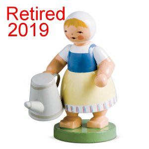 Retired Girl with Watering Can Image