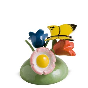Butterfly on Flowers by Wendt & Kühn Image