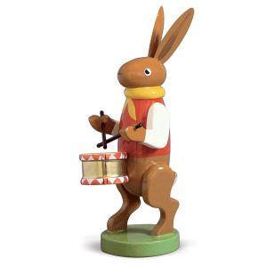 Bunny Musician with Drum by Wendt & Kühn Image