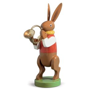 Bunny Musician with French Horn by Wendt & Kühn Image