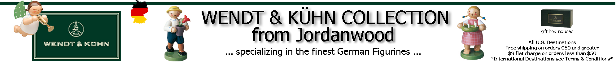 Wendt & Kühn Collection from Jordanwood Site Header Image