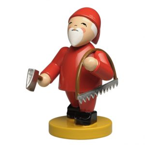 Gnome with Bow Saw and Axe by Wendt & Kühn Image