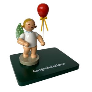 "Inscribed Base ""Congratulations"" with Figurine by Wendt & Kühn Image"