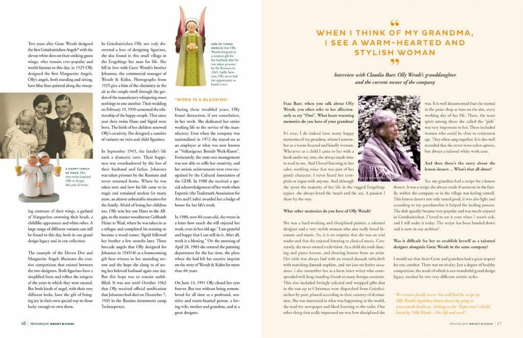 2020-2021 eleven dot post from Wendt & Kühn pages 16-17 Image