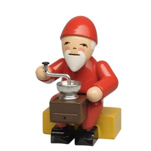 Gnome with Coffee Grinder by Wendt & Kühn Image