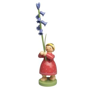 Girl with Wild Hyacinth by Wendt & Kühn Image