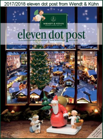 2017/2018 eleven dot post from Wendt & Kühn cover page with title image